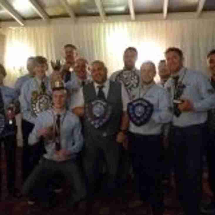 East Retford Rugby Union Football Club Presentation and Awards Night 2015 – 2016