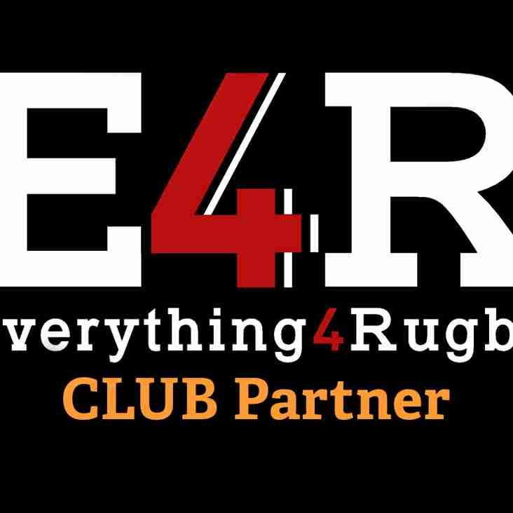 Club Partnership with Everything4Rugby