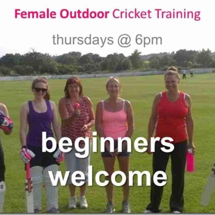 Female Outdoor training