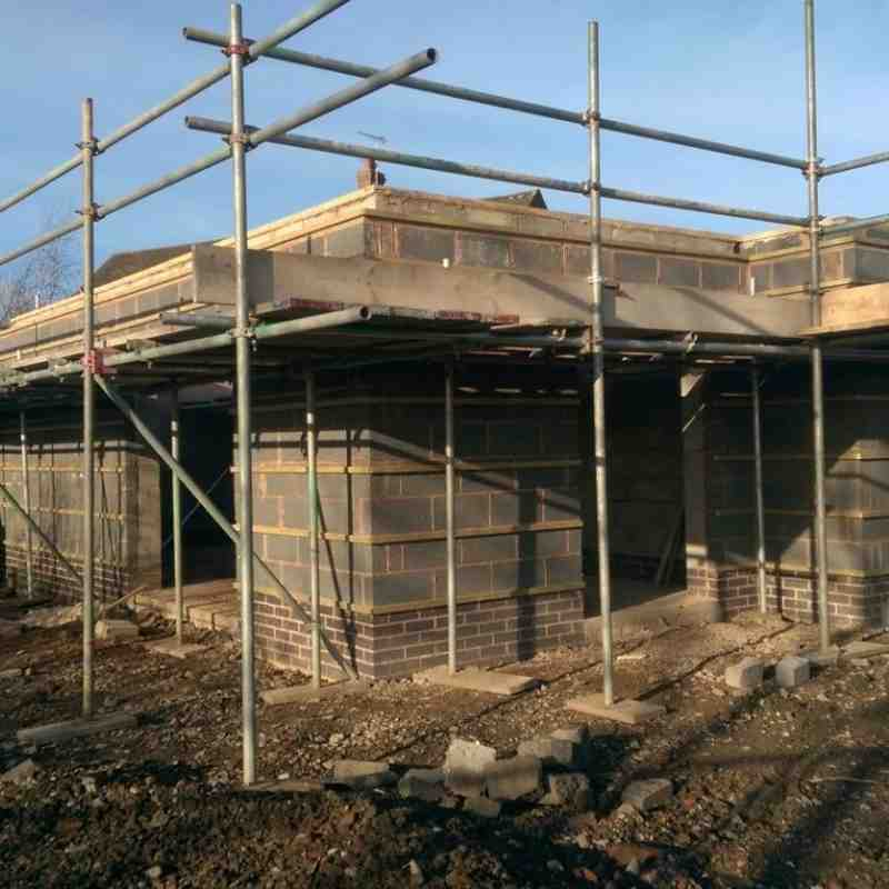 Pavilion build