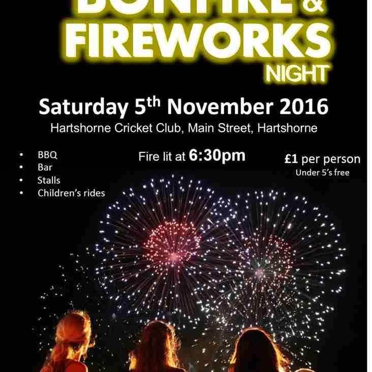 Bonfire & Fireworks Night 2016
