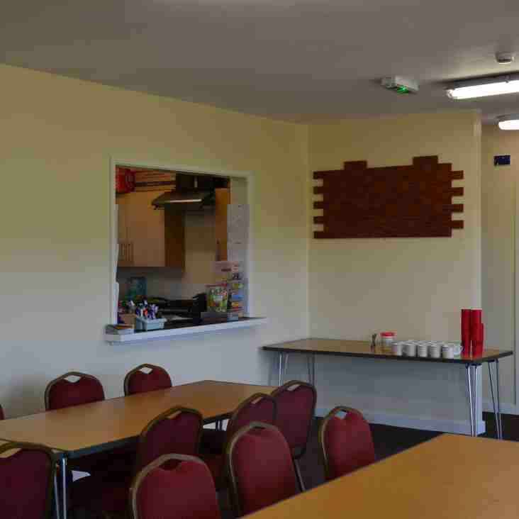 Can you help?   - volunteers needed to help staff pavilion during home matches