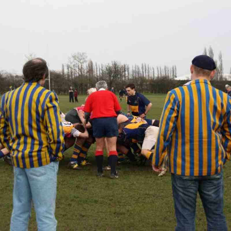 1st XV 12 - 0 Old Williamsonians- 12-03-11