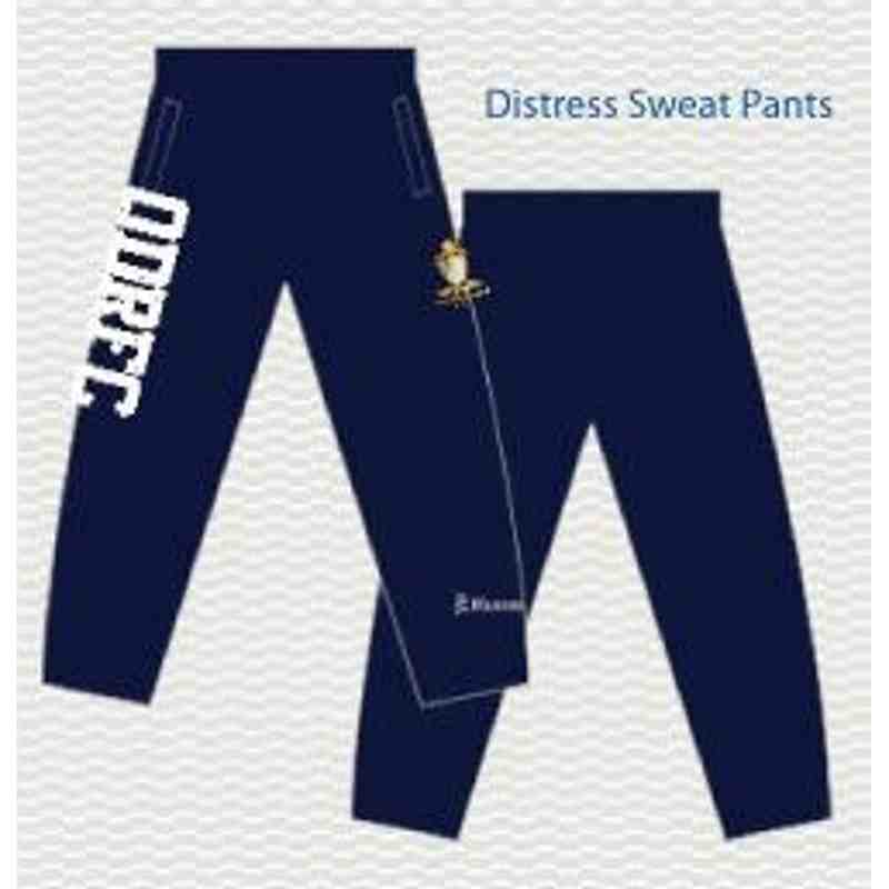 Distress Sweat Pants