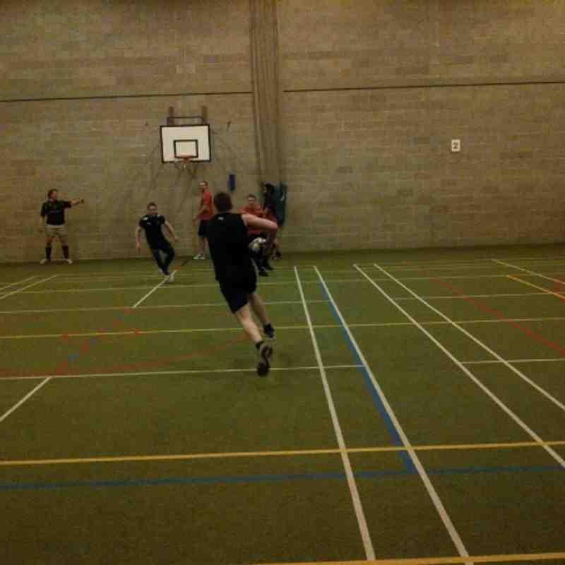 Indoor training, Jan12. Thanks to Bradford Grammar School.