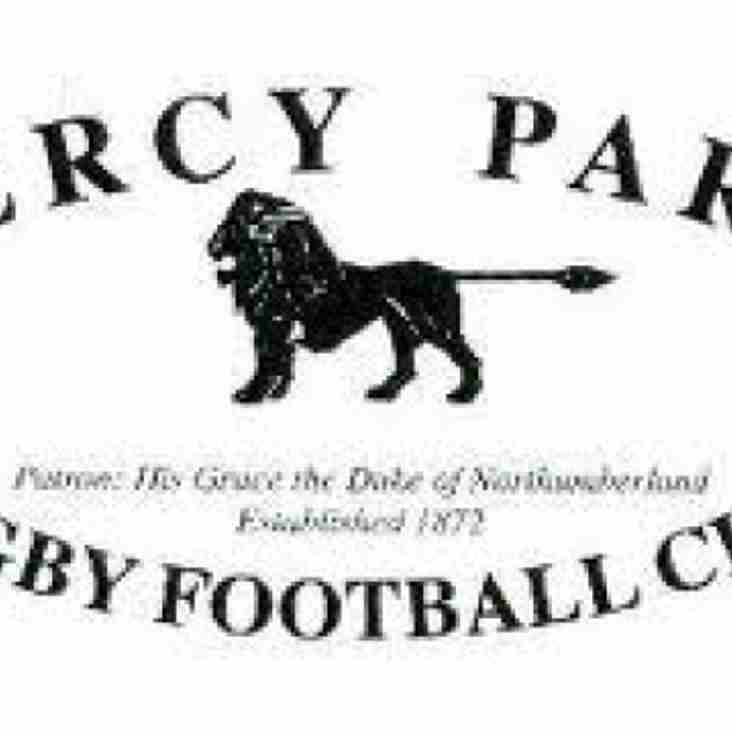 Percy Park Preview