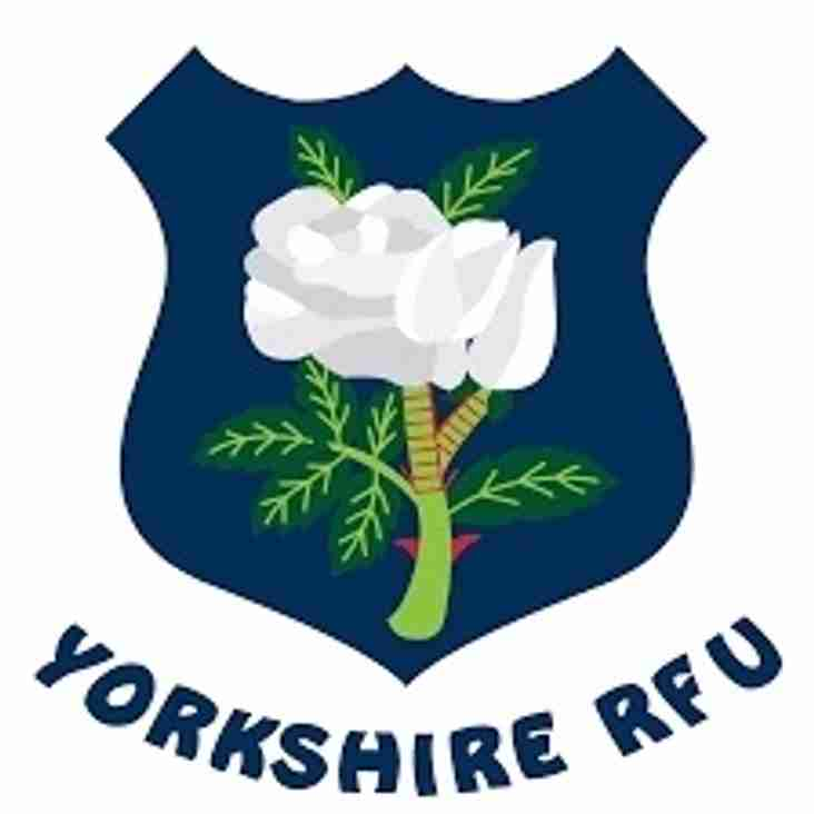 Yorkshire 1st XV to play at Wagon Lane