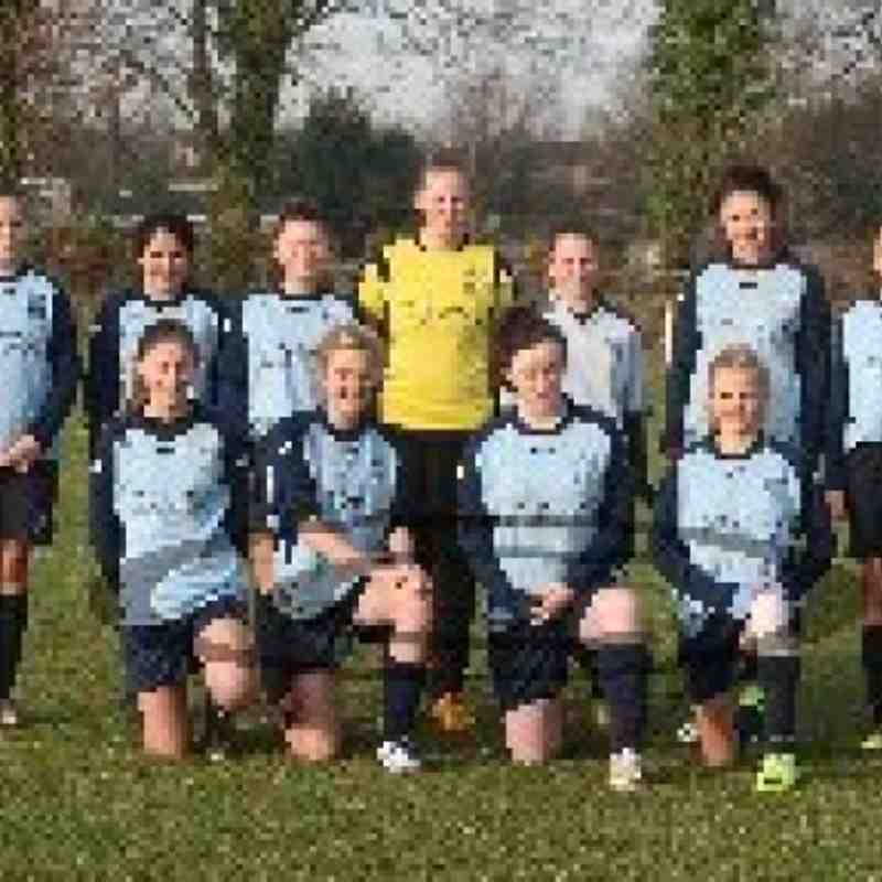 Bloxham fc under 15 girls 2013