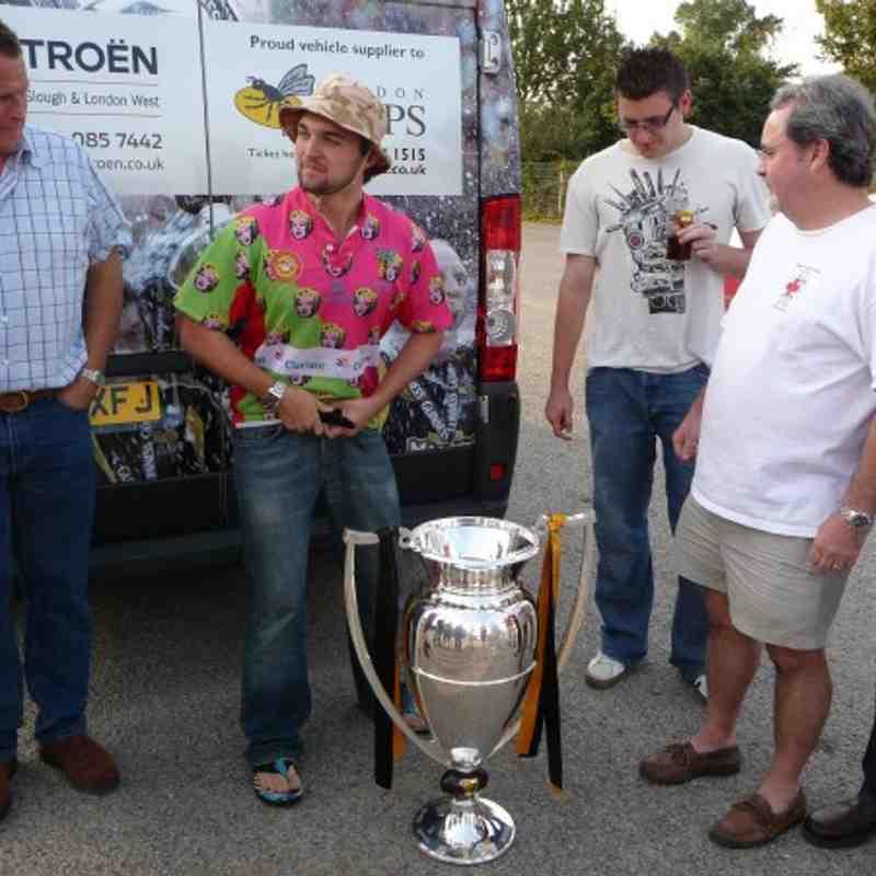 3rd XV Cup Spoils 2008/09 Season