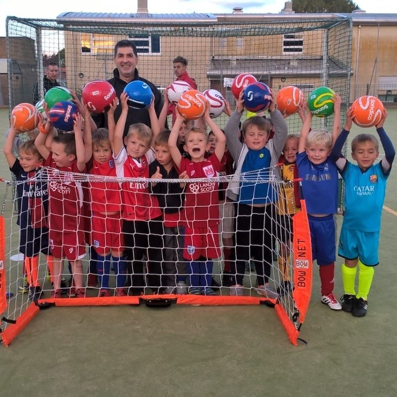 New goals for Under 6's