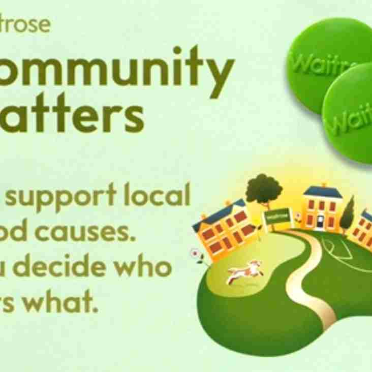 Shop at Waitrose to Support Chichester RFC in October 2016