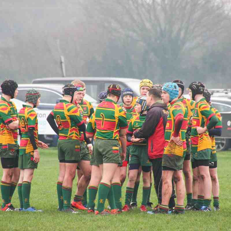 U15's v Hullensians 13th Dec 2015