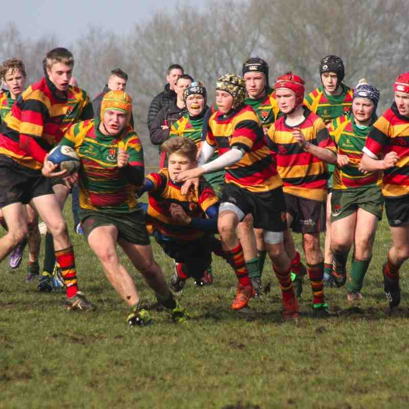Harrogate v U15's Yorkshire Plate Semi Final victory March 2016
