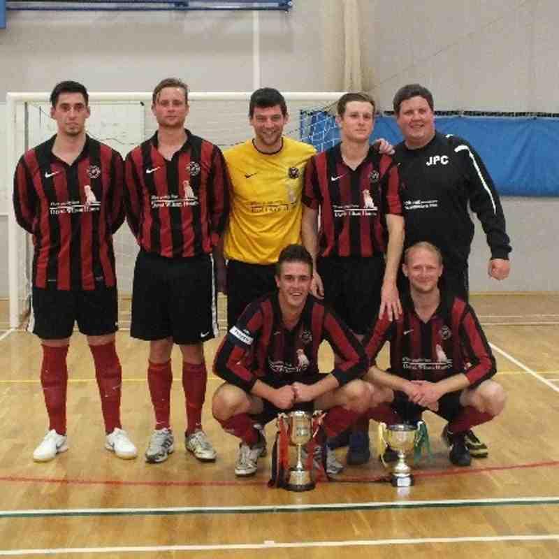 Barrow Town Futsal 21 Leicester Futsal 1 (18/06/13)