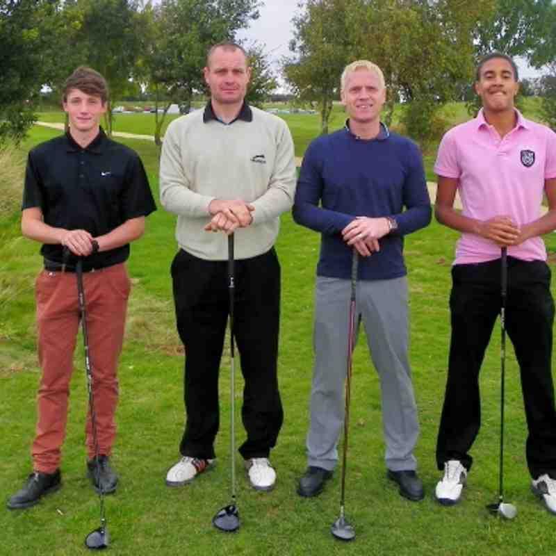 Banbury United Golf Day - Team Photos September 2011