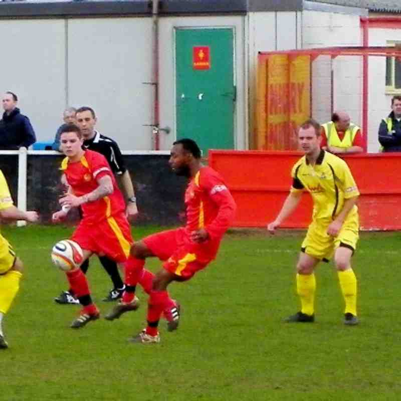 AFC Totton Home 10 March 2012