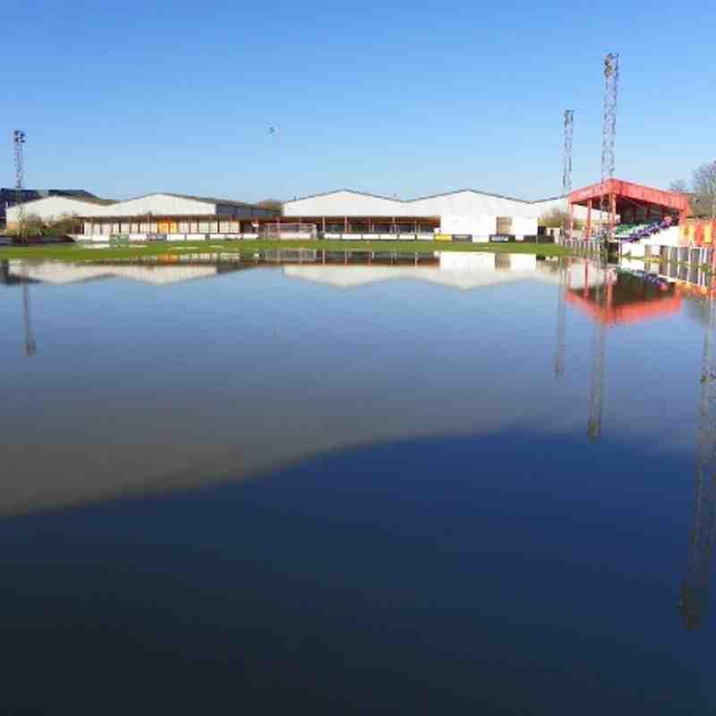 Spencer Stadium Friday 23rd November 2012