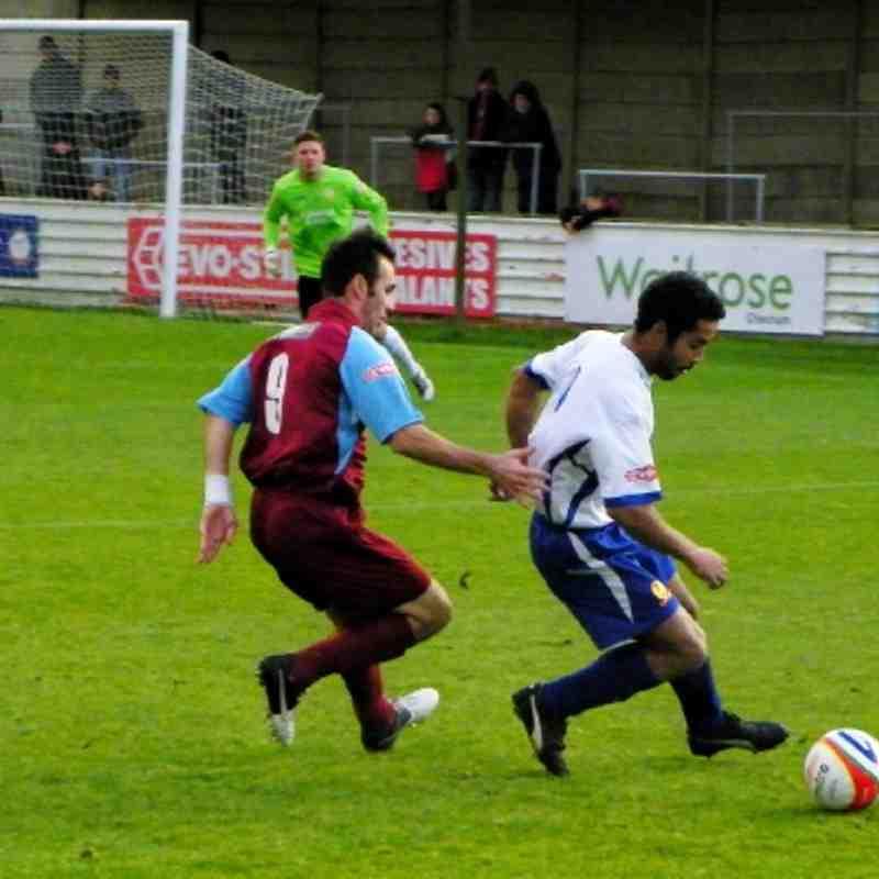 Chesham Away 1st December 2012