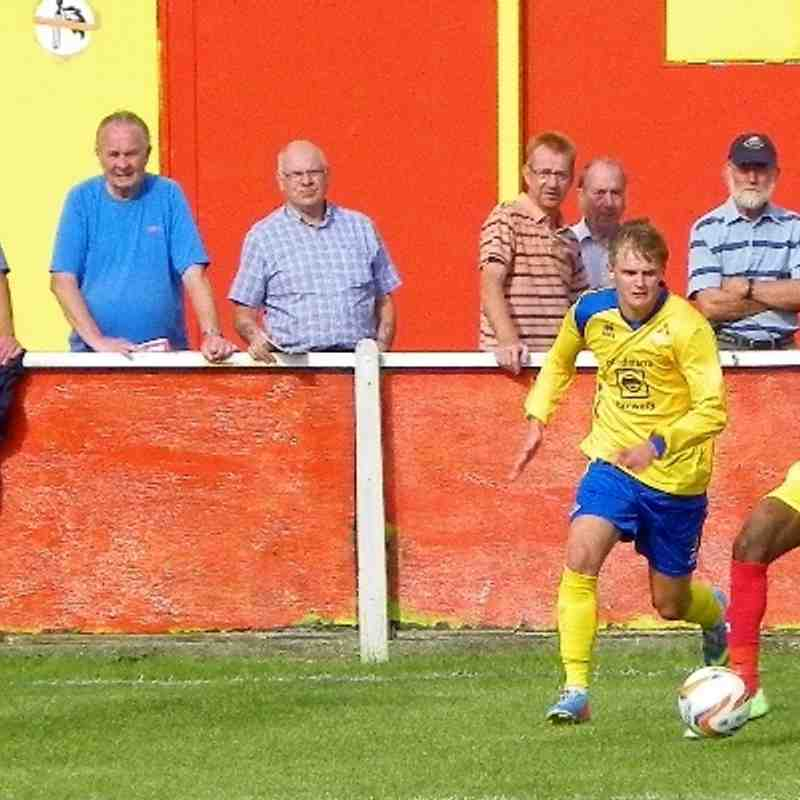 Banbury United v Frome Town 31 Aug 2013
