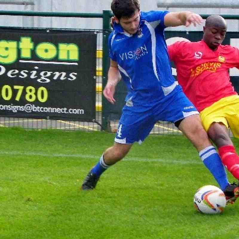 Away to AFC Totton 5th October 2013