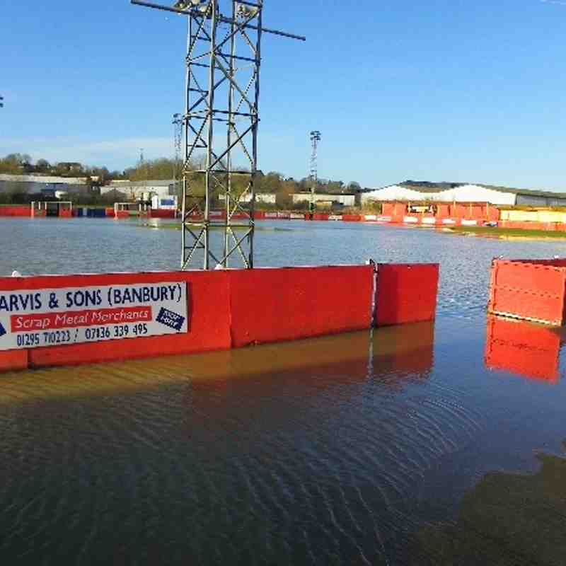 Flooded Pitch 8th February