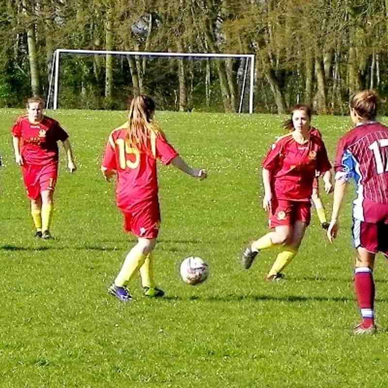 Chesham United Ladies v Banbury  United Ladies 9th March 2014