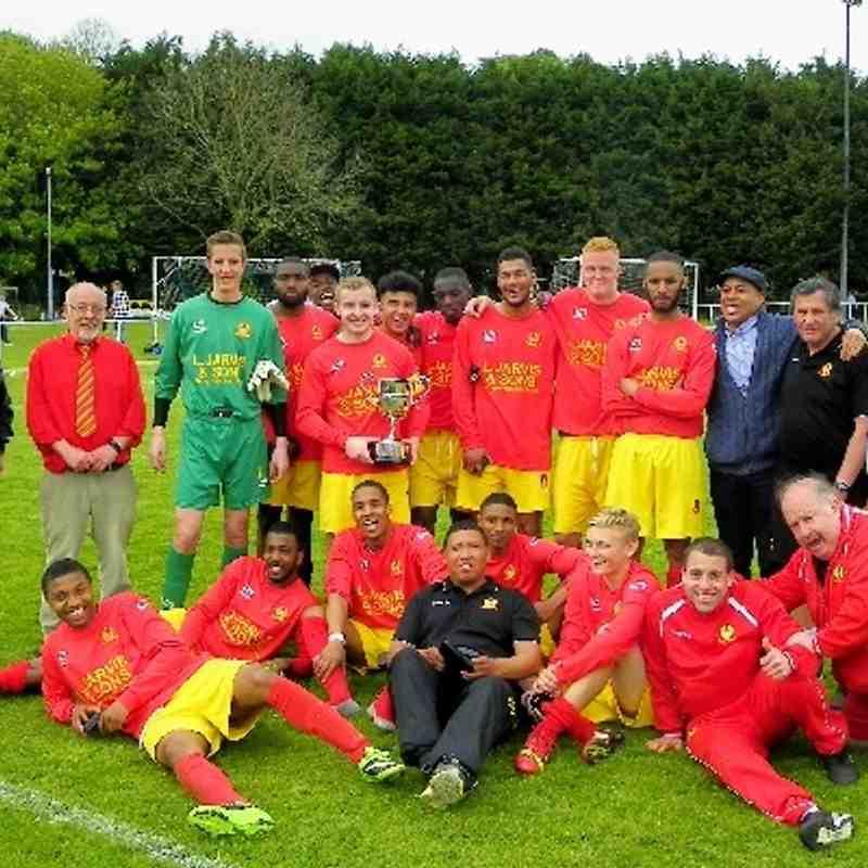 Buckingham Charity Cup Final May 2014