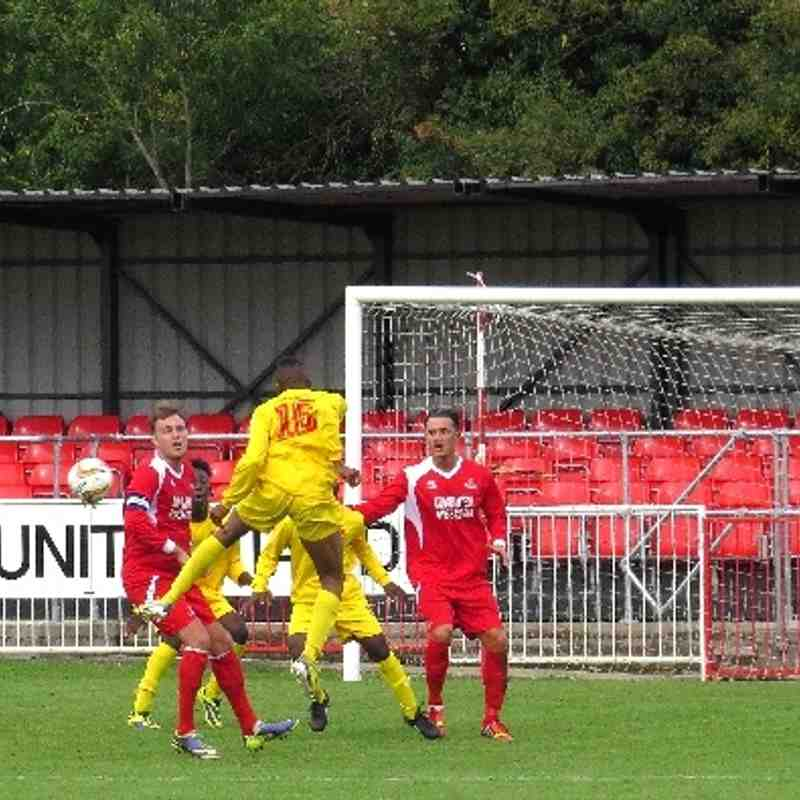 Frome Town v Banbury United 30th Aug 2014
