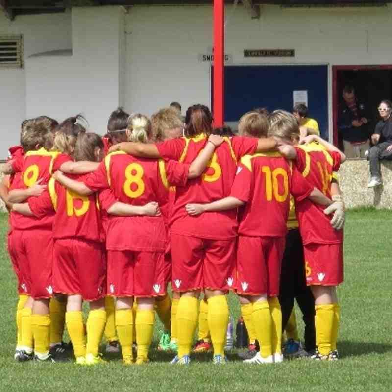 Tower Hill v Banbury United Ladies 31 Aug 2014