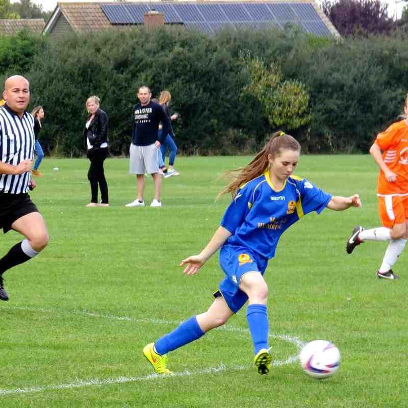 Milton Keynes City Ladies v Banbury United Ladies 14 Sep 2014