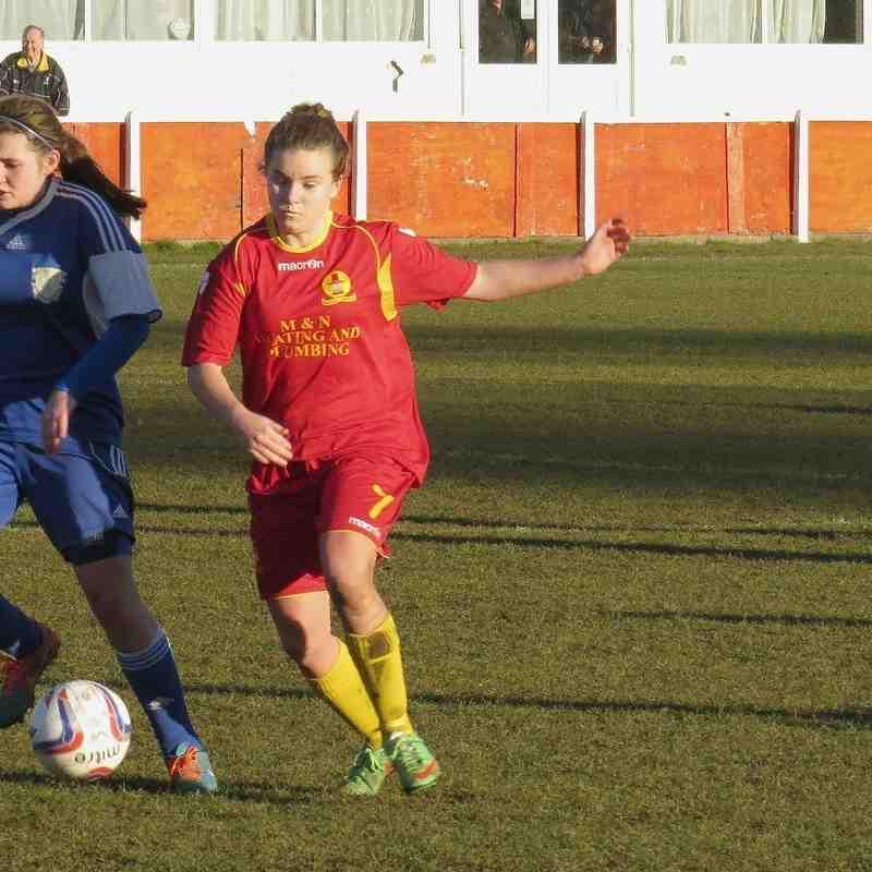 Banbury United Ladies v Basingstoke Town Ladies - 25th Jan 2015