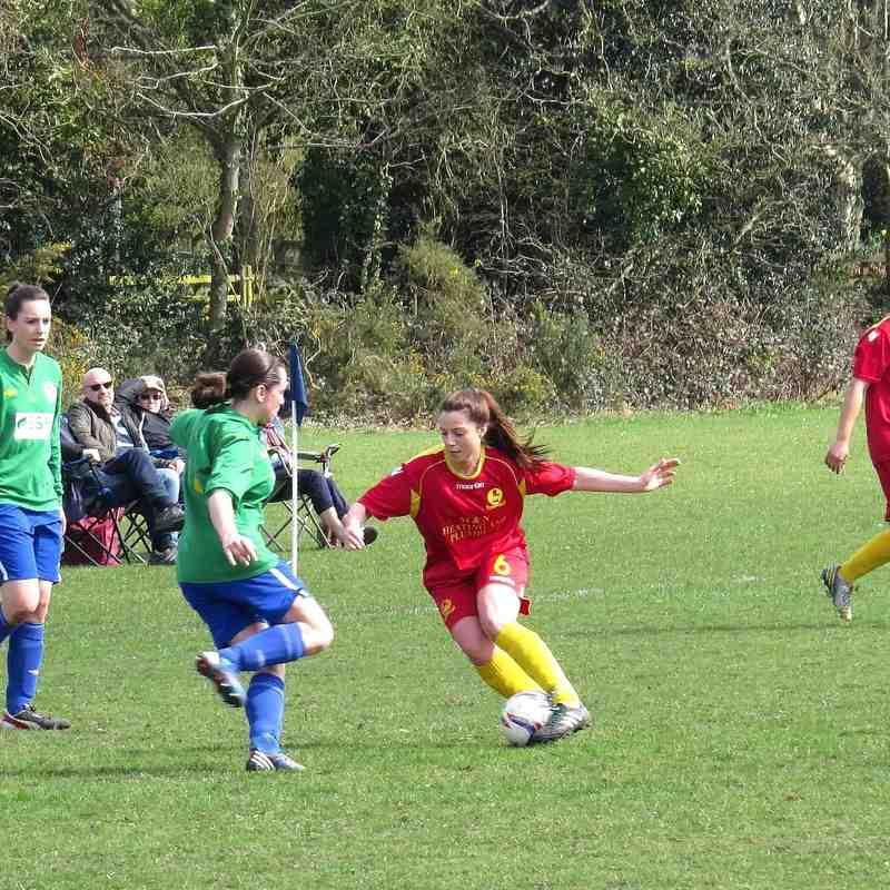 Southampton Women's v Banbury United Ladies 5th April 2015
