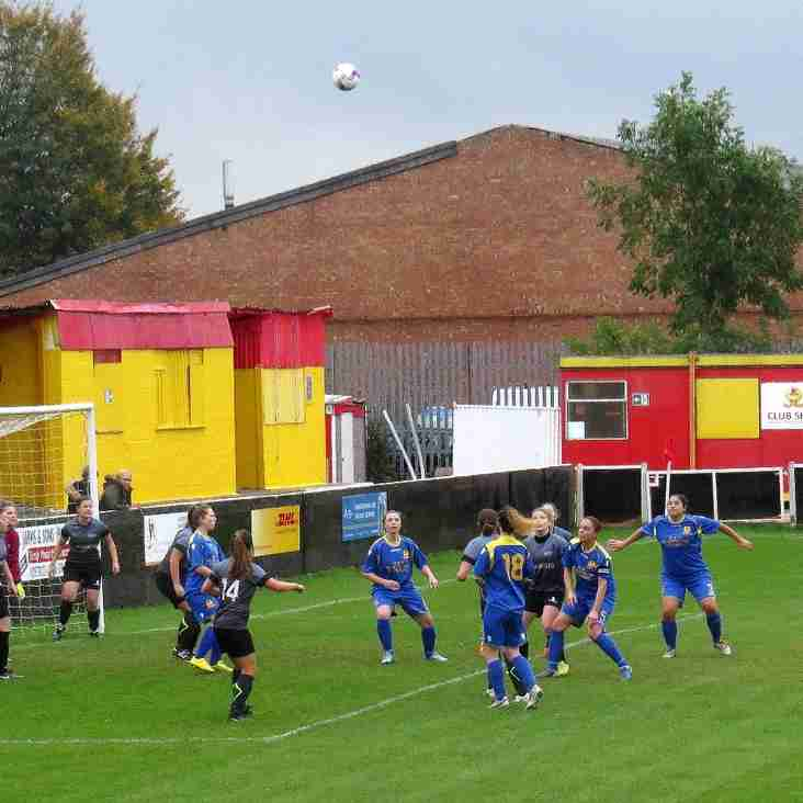 Banbury United Ladies 7 Oxford Brookes University Ladies 1 - Match Report