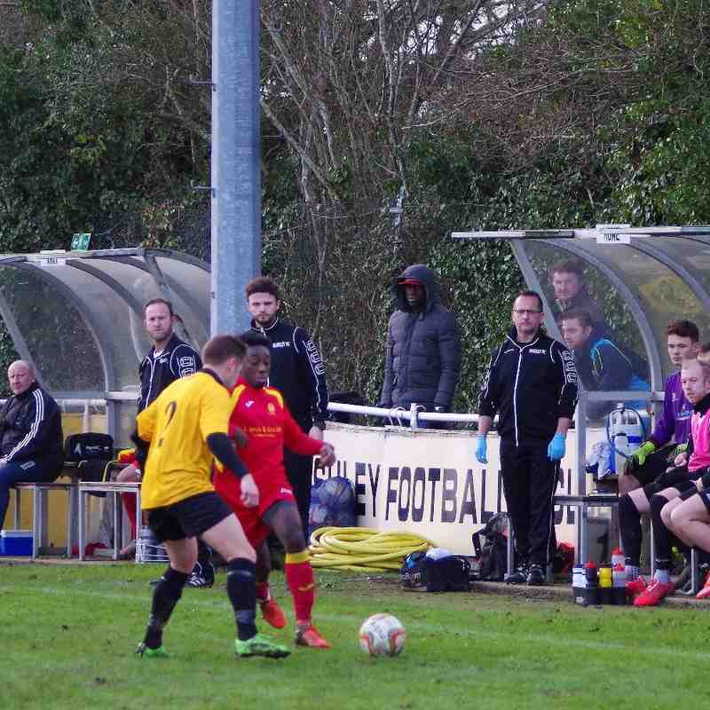 Bashley v Banbury United 23rd Jan 2016