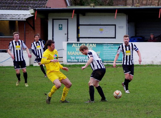 Wimborne Town v Banbury United - 30 Jan 2016