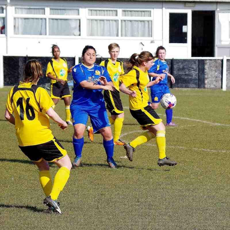Banbury United Ladies v Oxford City Ladies Photos - 13th March 2016