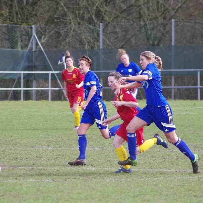 Basingstoke Town Ladies v Banbury United Ladies - Photos