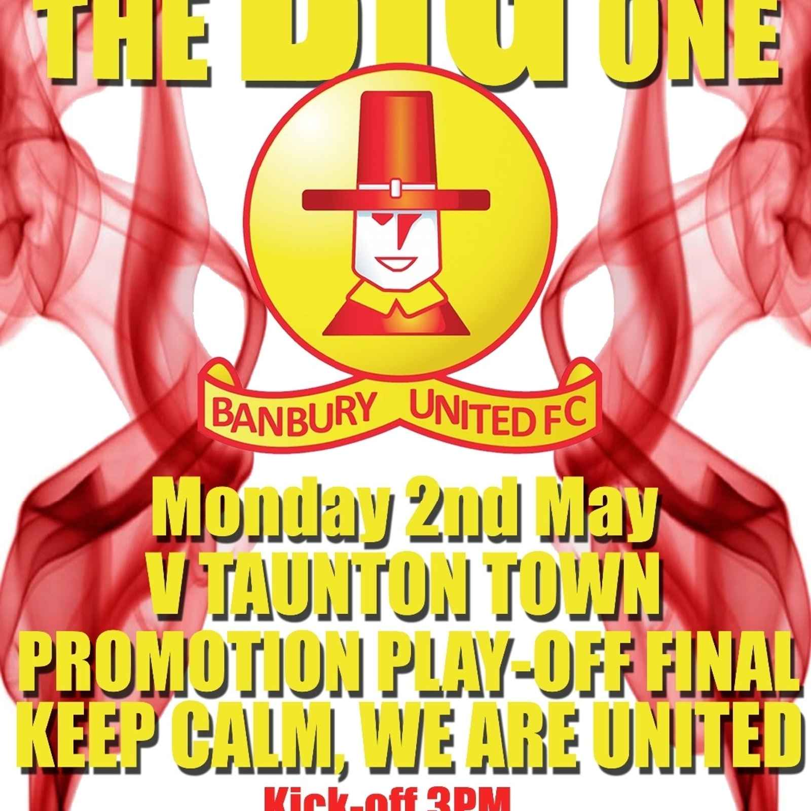 Play-Off Final Poster
