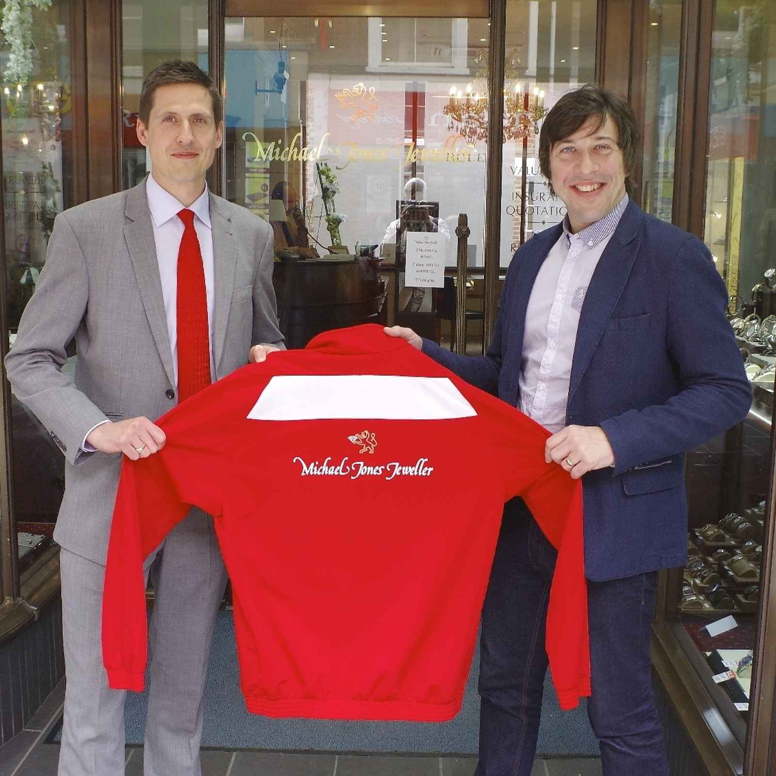 Michael Jones Jeweller continue to back United
