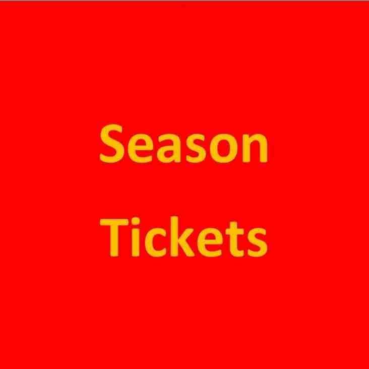 Season Tickets 2018/19