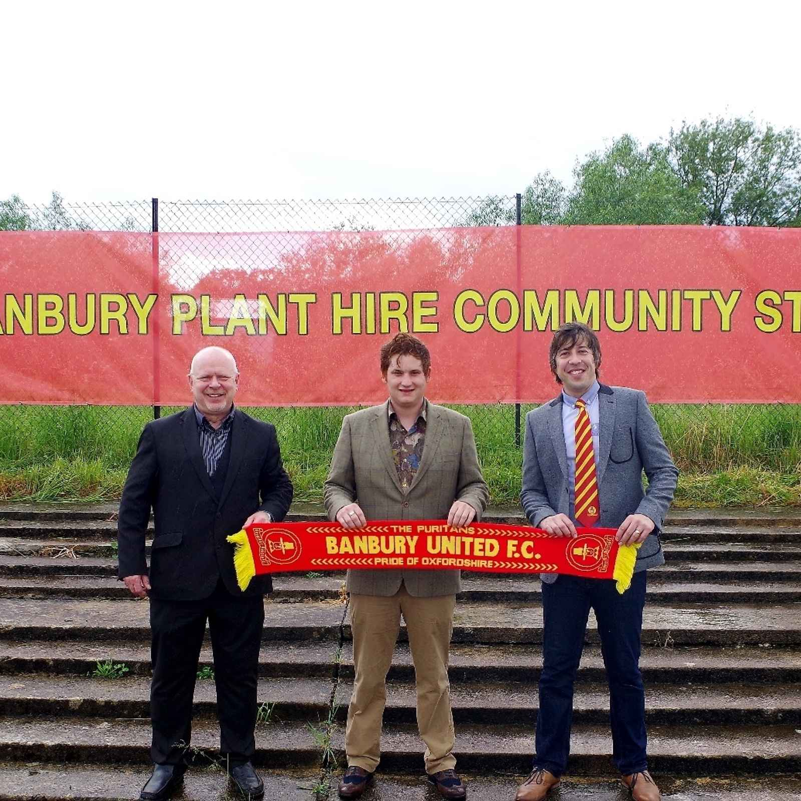 Banbury United's Stadium renamed in 3-Year sponsorship deal with Banbury Plant Hire