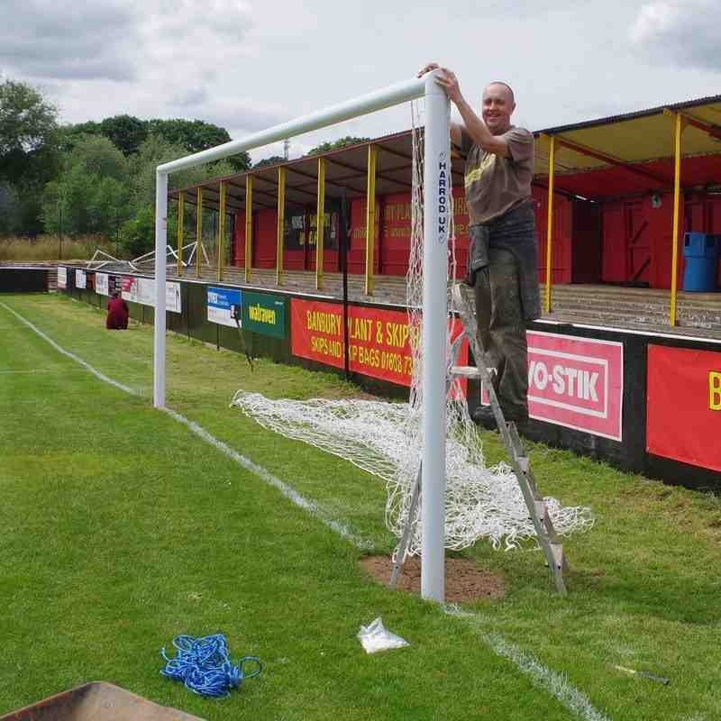 Ground Works Continue - 6th July 2016