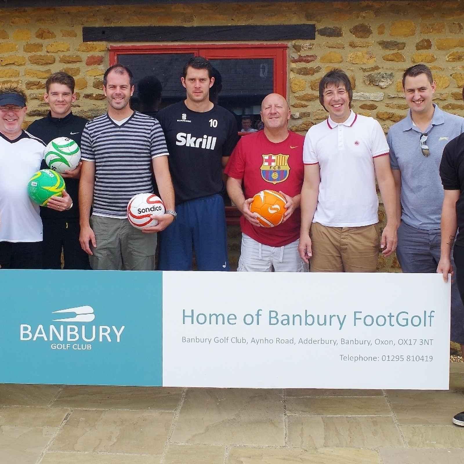 Banbury United Pro-Am FootGolf