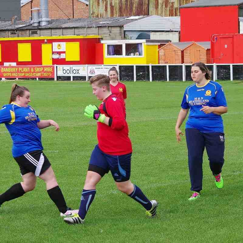Ladies Training Session 4th September 2016