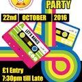 Puritans Radio 80's Disco Party