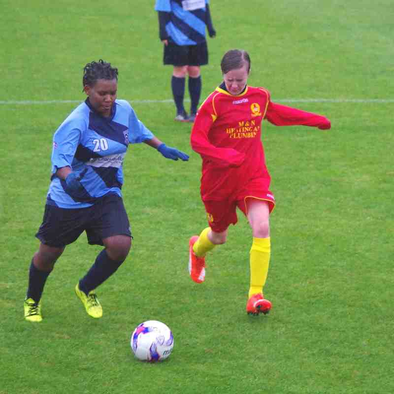 Banbury United Ladies v Fleet Town Photos