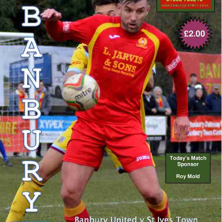 St Ives Town Match Preview