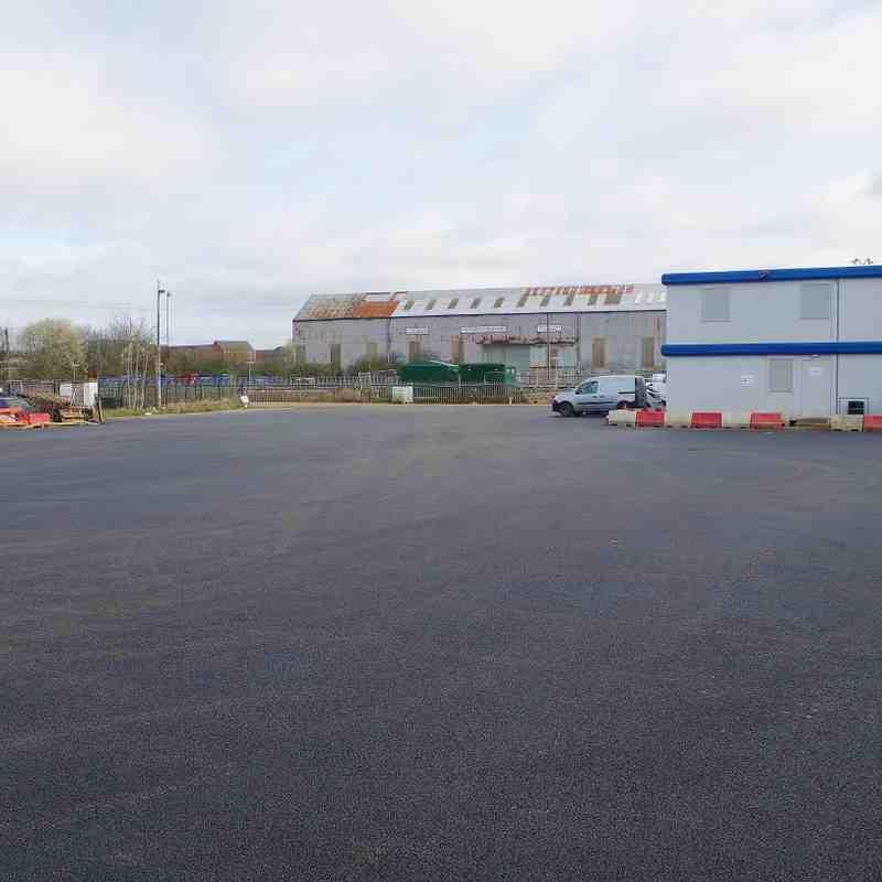 Car Park Works Complete