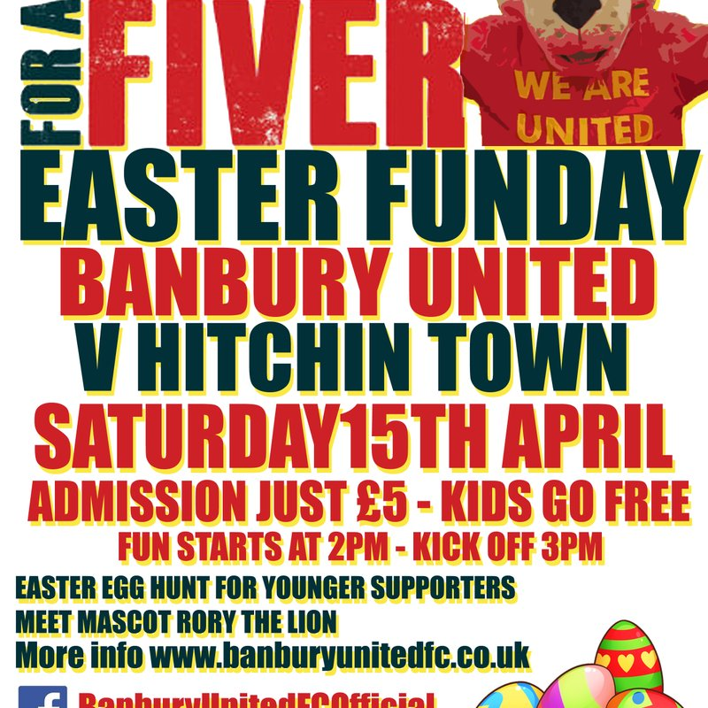 Football for a Fiver and Easter Funday