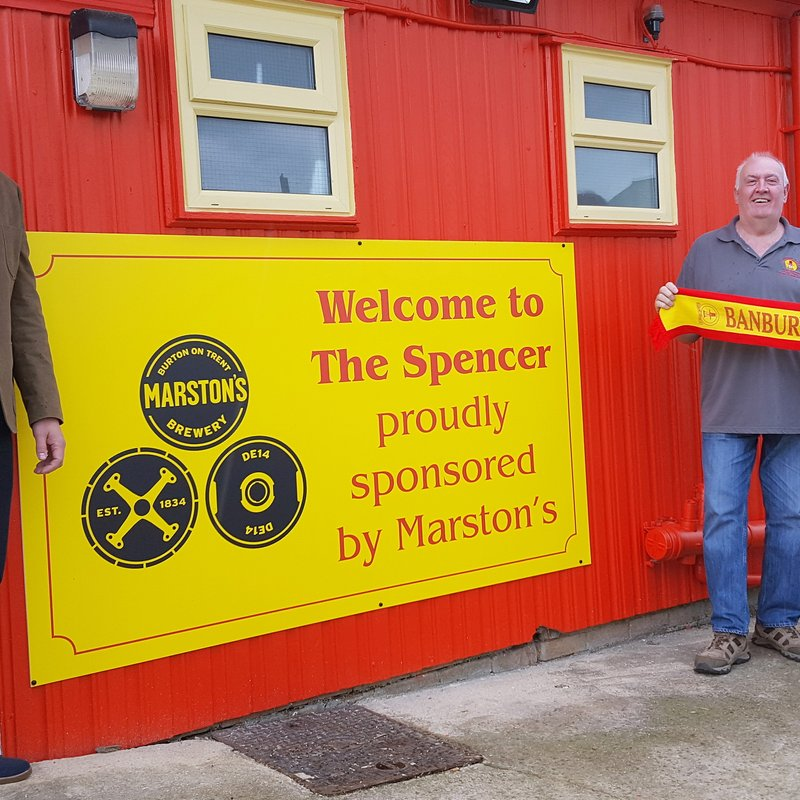 Marston's Brewery back the Puritans in Clubhouse Sponsorship Deal